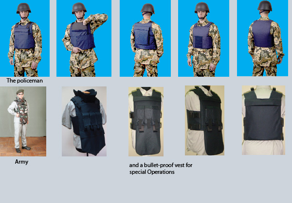 Bullet-Proof Vests of External Carrying «Module»